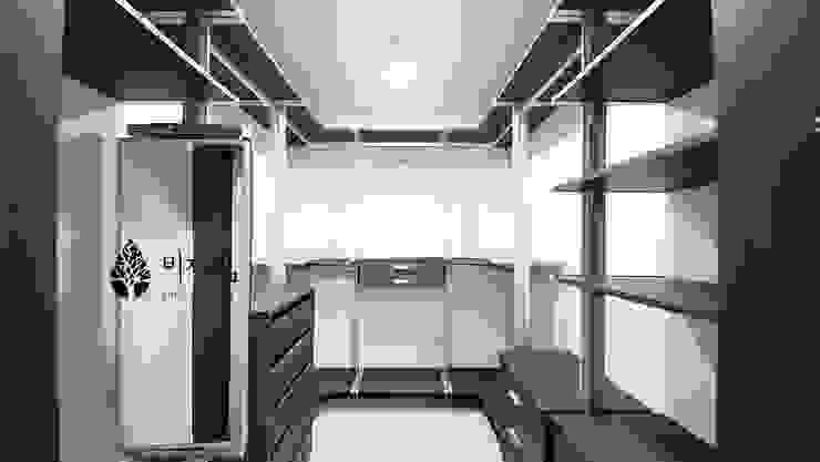 [休] 가족을 위한 자연같은 집 모던스타일 드레싱 룸 by 비자림인테리어 모던