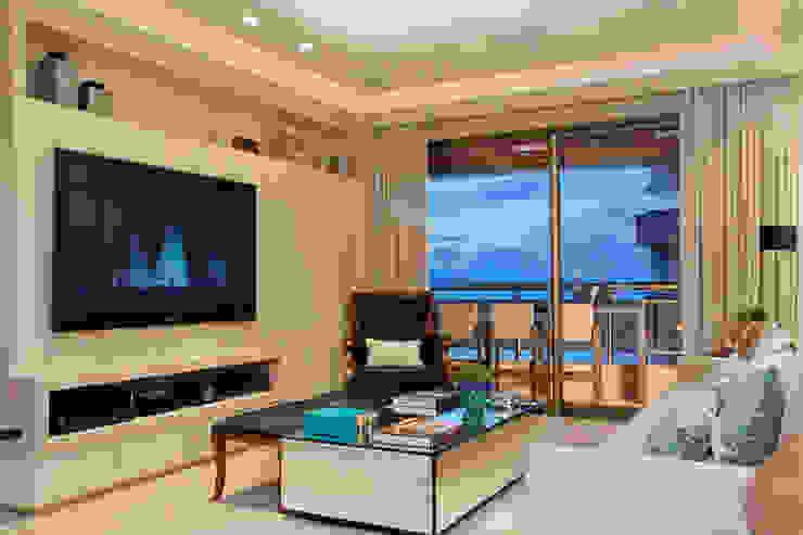 Priscila Koch Arquitetura + Interiores Living room