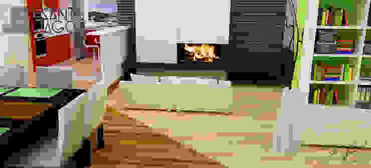 E-Aguilar Comedores minimalistas de SANT1AGO arquitectura y diseño Minimalista
