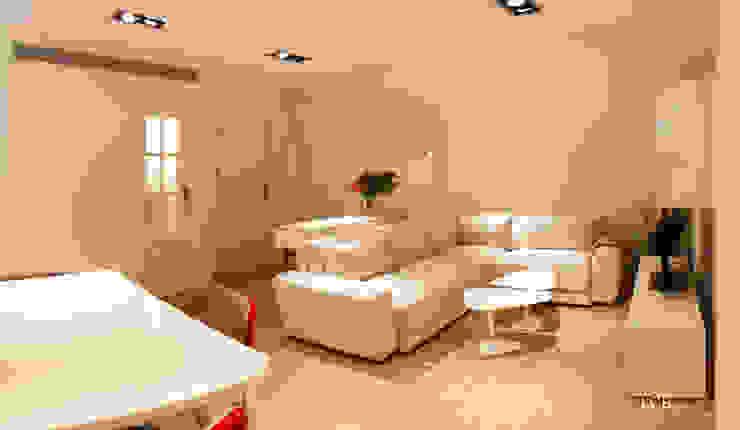 Salas de estar modernas por LCB studio Moderno