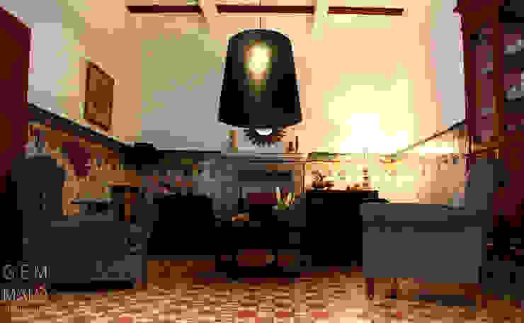 Landhaus Hotels von Gemmalo arquitectura interior Landhaus Fliesen