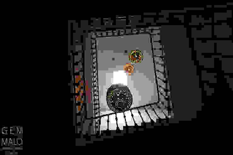 Landhaus Hotels von Gemmalo arquitectura interior Landhaus Kupfer/Bronze/Messing