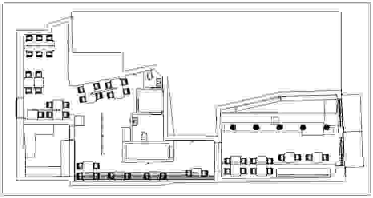 Planos Casas modernas de Profesionales Especialistas Moderno