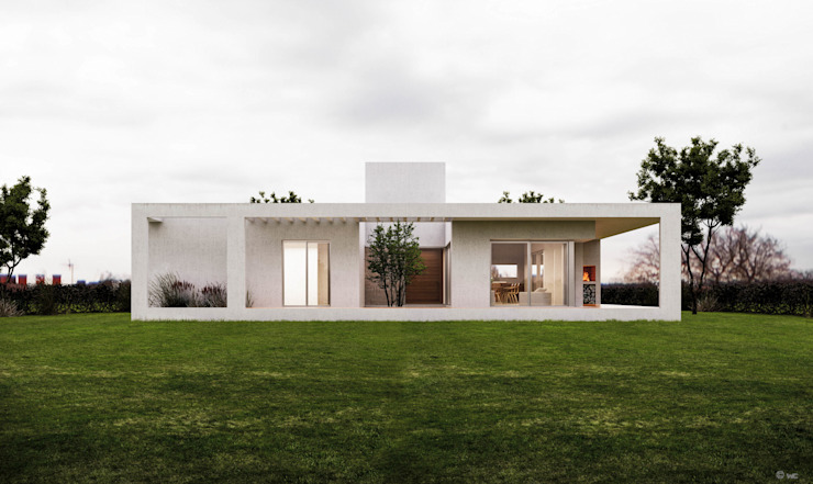 1.61arquitectos Single family home White