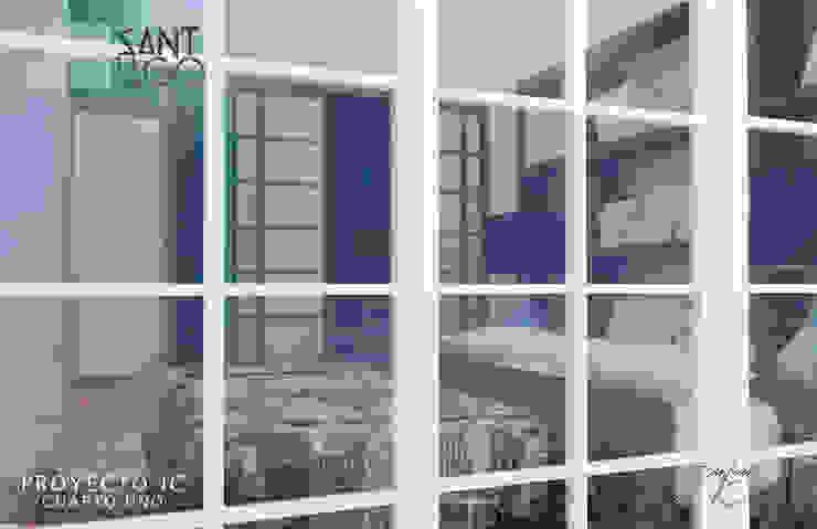 Proyecto Jc Dormitorios minimalistas de SANT1AGO arquitectura y diseño Minimalista