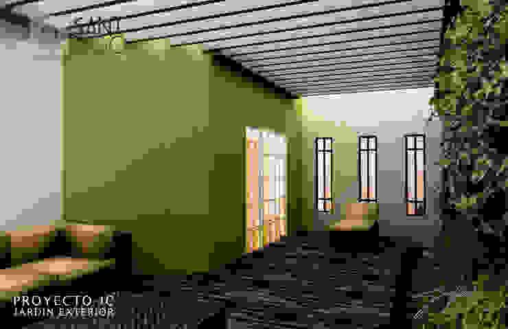 Proyecto Jc Balcones y terrazas minimalistas de SANT1AGO arquitectura y diseño Minimalista