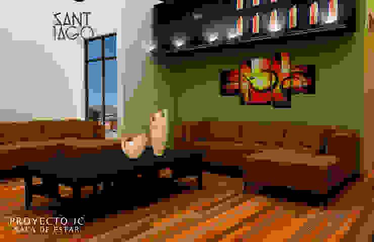 Proyecto Jc Salas multimedia minimalistas de SANT1AGO arquitectura y diseño Minimalista