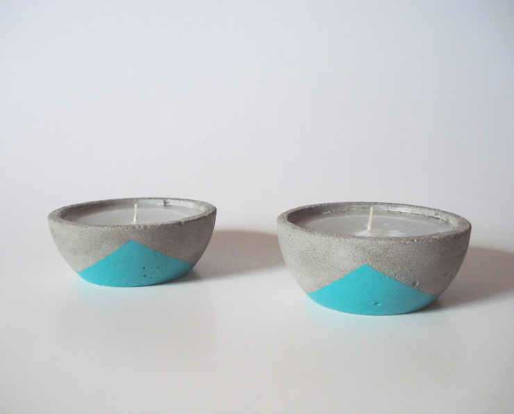 BODOQUE - Diseño en Concreto Living roomAccessories & decoration Turquoise
