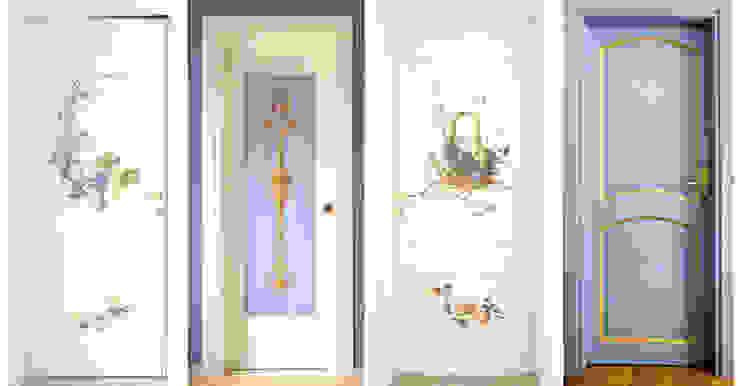 Porte decorate. di erica de rosa, dipinti, affreschi, trompe l'oeil, decorazioni - Venezia Classico