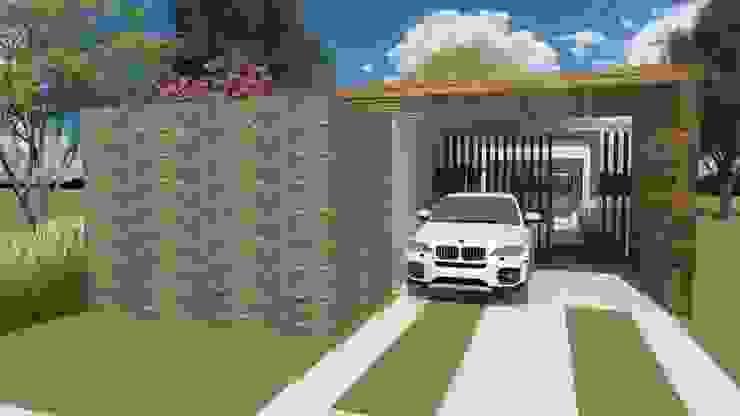 Casa Evolutiva 01 - Cenário final by Tony Santos Arquitetura Рустiк