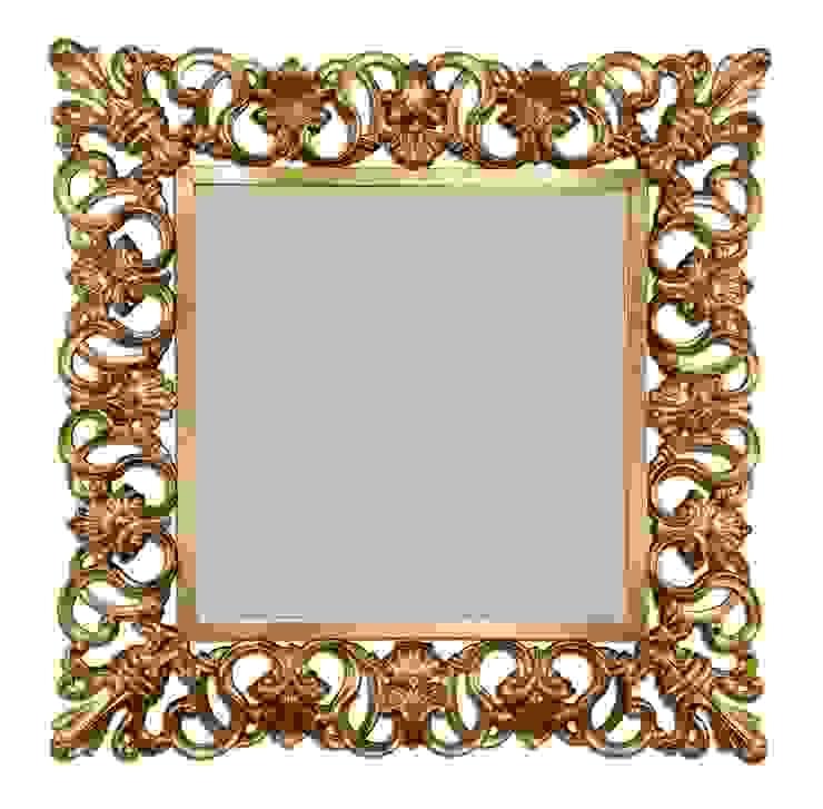 Versailles mirror:  colonial por Hugobarbosa.com,Colonial Prata/Ouro