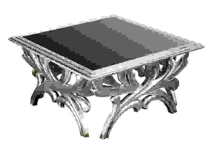 Forest coffee table:  colonial por Hugobarbosa.com,Colonial Prata/Ouro