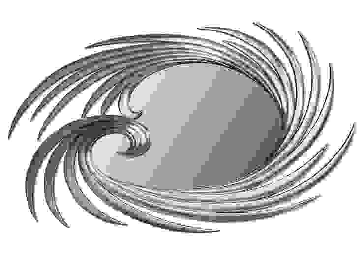 Capri mirror:  colonial por Hugobarbosa.com,Colonial Prata/Ouro