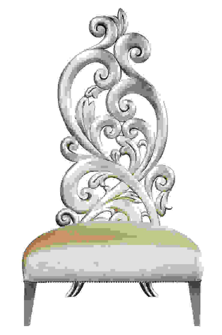 Leaf chair:  colonial por Hugobarbosa.com,Colonial Prata/Ouro
