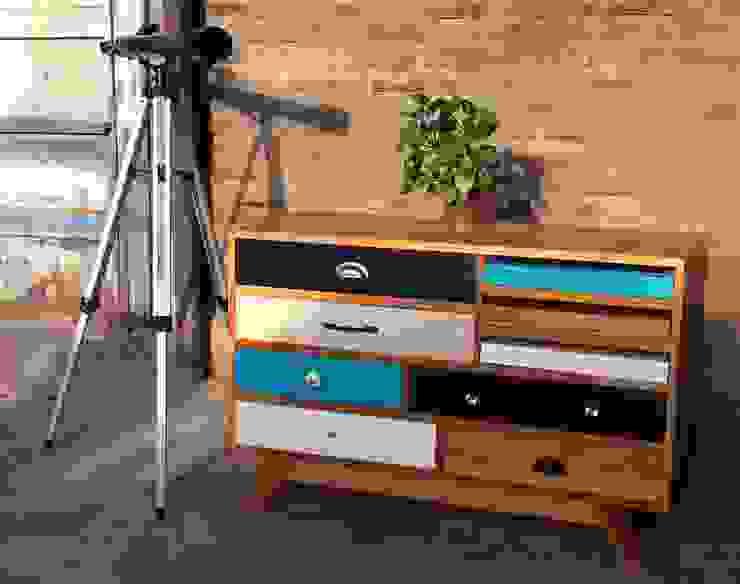 Cómoda funcional de la segunda patita Moderno Madera Acabado en madera