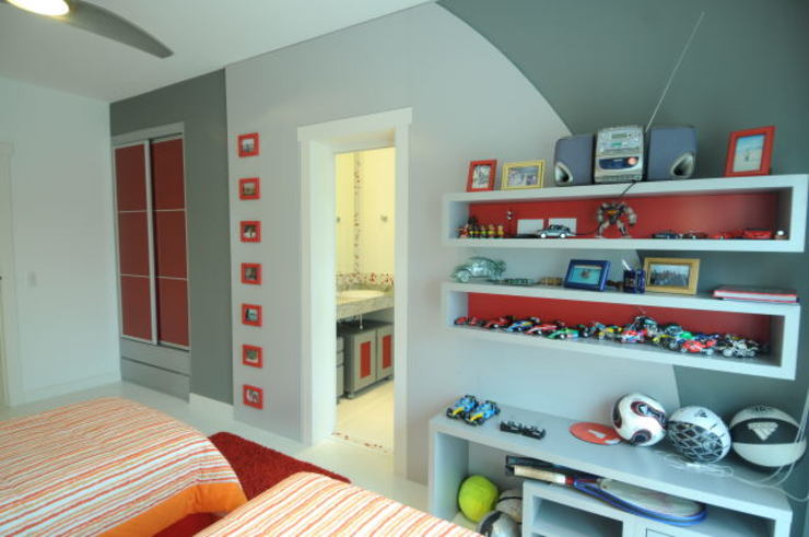 モダンデザインの 子供部屋 の João Linck | Arquitetura モダン