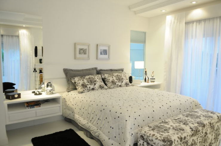 Dormitorios de estilo moderno de João Linck | Arquitetura Moderno