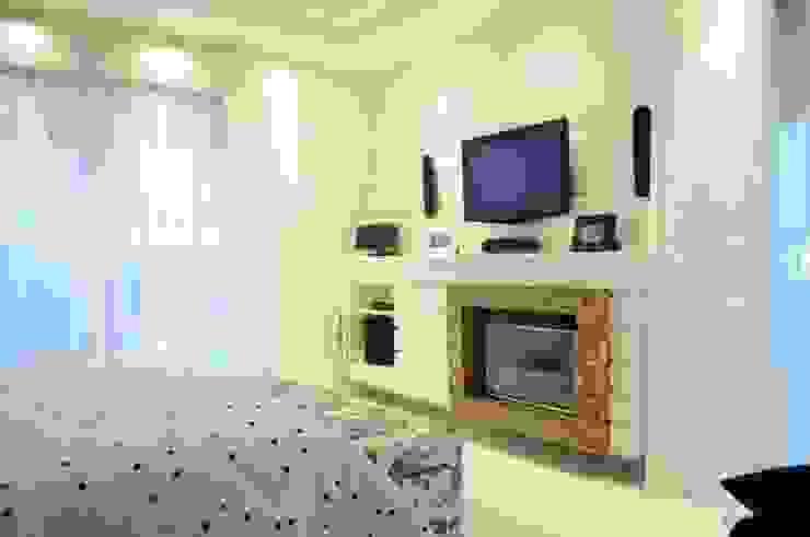 モダンスタイルの寝室 の João Linck | Arquitetura モダン