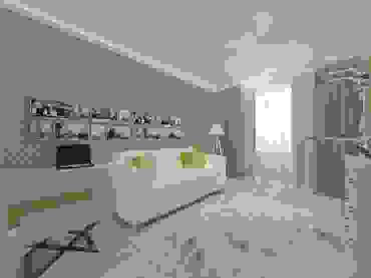 Квартира. Мой только виз (превью) Гостиная в классическом стиле от Андреева Валентина Классический