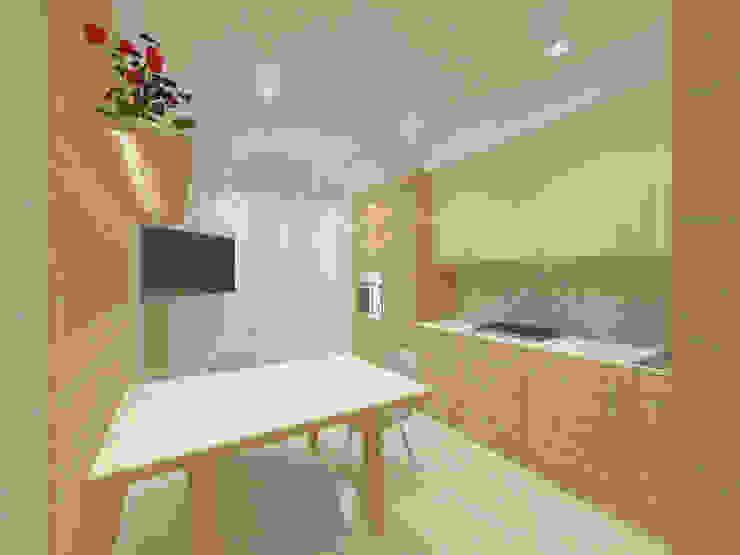 Квартира. Мой только виз (превью) Кухня в классическом стиле от Андреева Валентина Классический