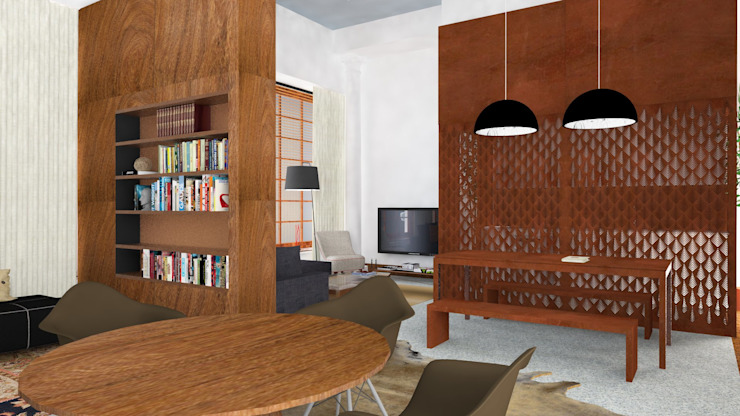 Residence| Loft Industrial style living room by IDesign.art by Paula Gouveia Industrial