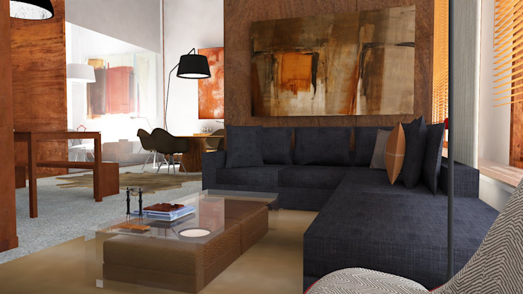Residence Loft by IDesign.art by Paula Gouveia Industrial