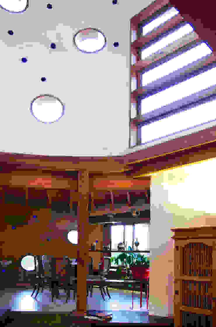 ALIWEN arquitectura & construcción sustentable - Santiago Living room