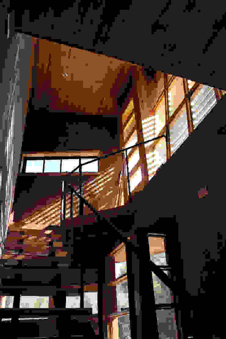Escalera de ALIWEN arquitectura & construcción sustentable - Santiago Moderno