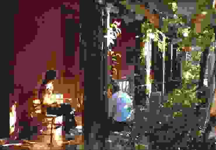 Terraza Balcones y terrazas coloniales de ALIWEN arquitectura & construcción sustentable - Santiago Colonial