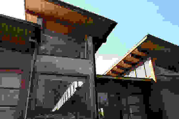 Fachada ALIWEN arquitectura & construcción sustentable - Santiago Casas unifamiliares