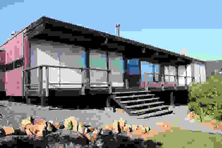 od ALIWEN arquitectura & construcción sustentable - Santiago Nowoczesny