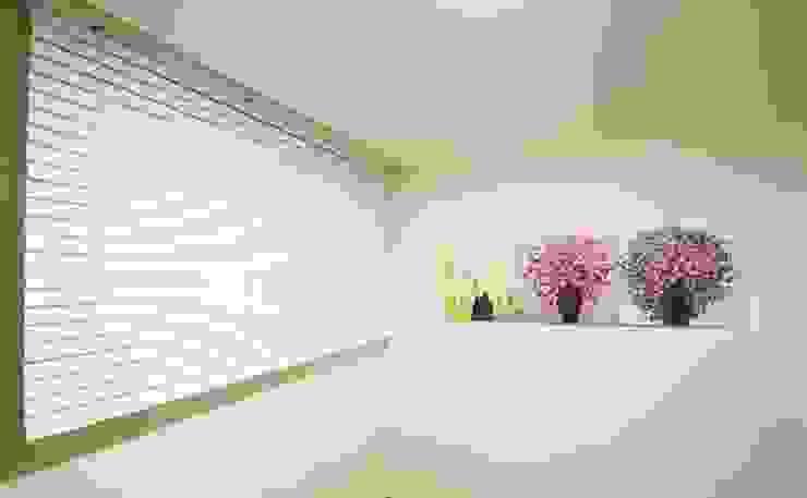 광교 서재형거실 홈스타일링(Kwanggyo APT) Portas e janelas modernas por homelatte Moderno