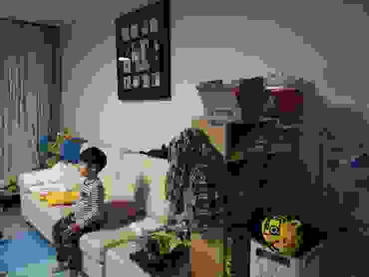 광교 서재형거실 홈스타일링(Kwanggyo APT) Habitaciones para niños de estilo moderno de homelatte Moderno