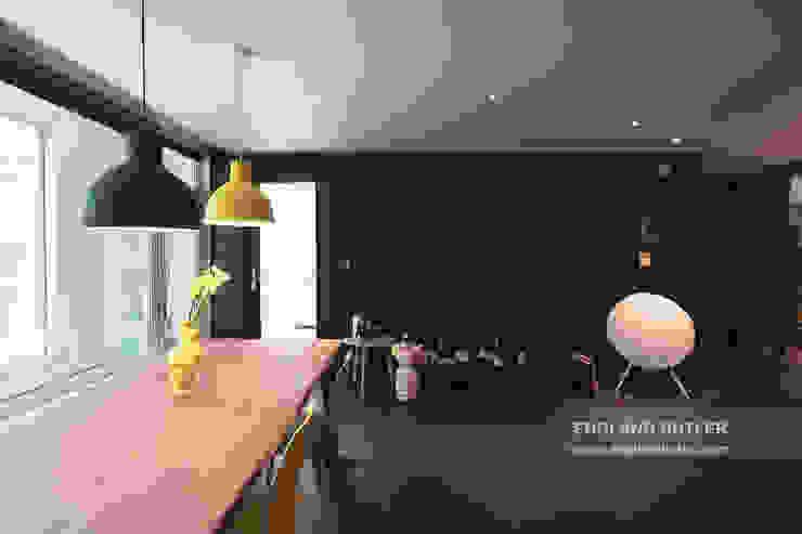 분당 K House (Bundang K House) Modern living room by 잉글랜드버틀러 Modern