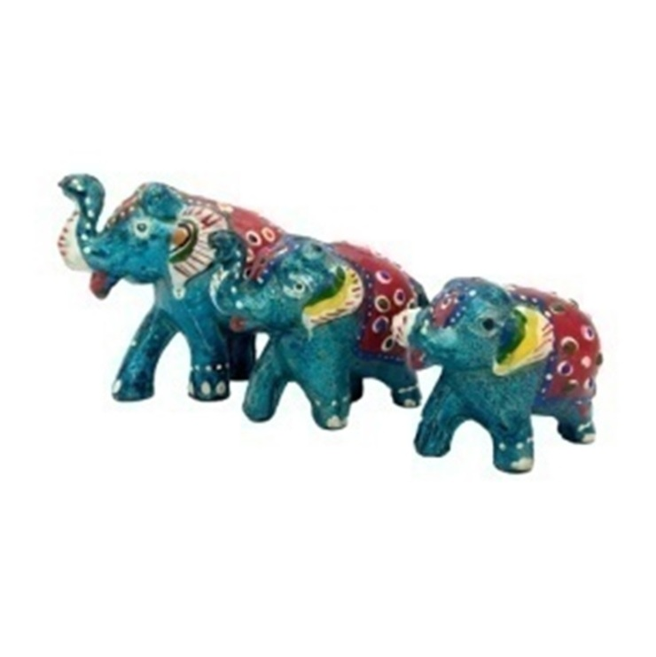 Elephants: asian  by Alyth Creations,Asian