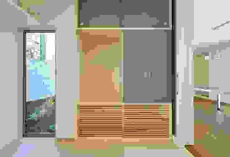 有限会社 橋本設計室의  침실, 모던