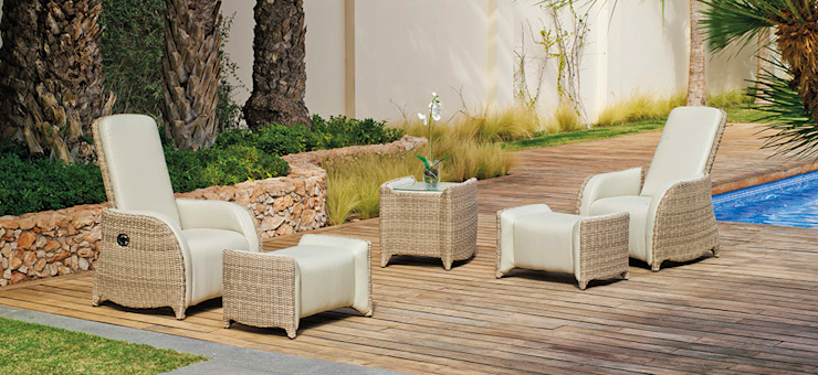 Hevea Garden Furniture Synthetic Beige