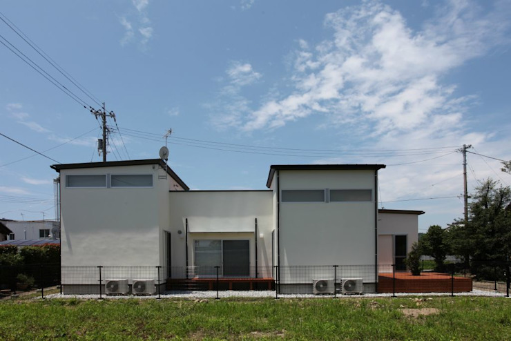 Maisons asiatiques par 有限会社 橋本設計室 Asiatique