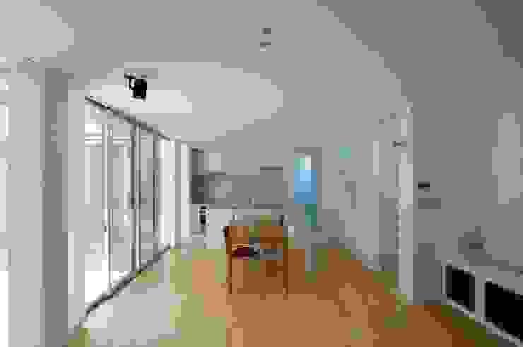 有限会社 橋本設計室 Ruang Makan Modern