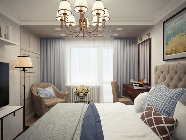 Colonial style bedroom by homify Colonial