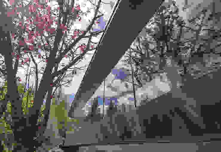 Chevallier Architectes Modern houses Glass