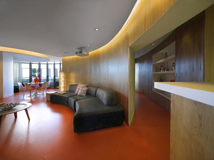 Torres Blancas apartment Cocinas de estilo moderno de Ruiz Velázquez Moderno Madera Acabado en madera