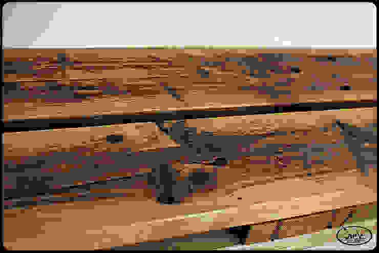 Wandboard Europaletten Irekholzart natur von IrekHolzArt Rustikal Holz Holznachbildung