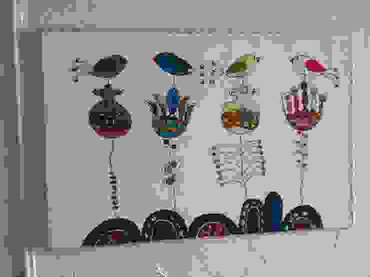 """Настенное панно """"Цветы"""" tanya zaichenko Произведения искусстваКартины и принты Многоцветный"""