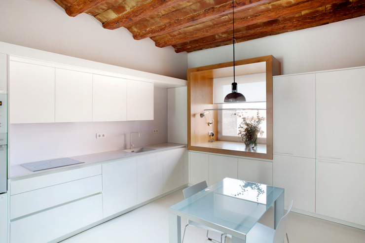 Viladecavalls House Minimalistische Küchen von CABRÉ I DÍAZ ARQUITECTES Minimalistisch