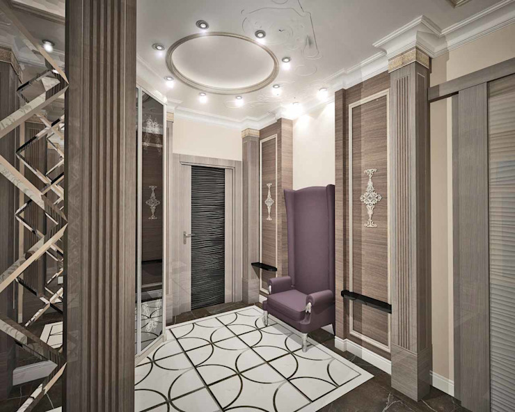 Corridor & hallway by Лаборатория Дизайна