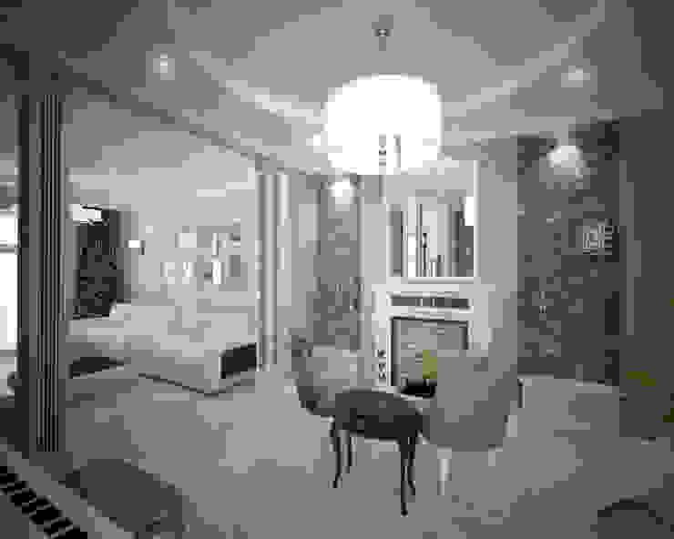 Living room by Лаборатория Дизайна