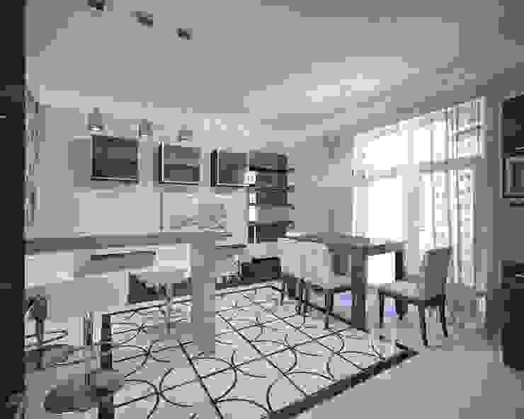 Dining room by Лаборатория Дизайна