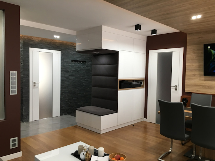 Modern living room by Fabryka Wnętrz Modern