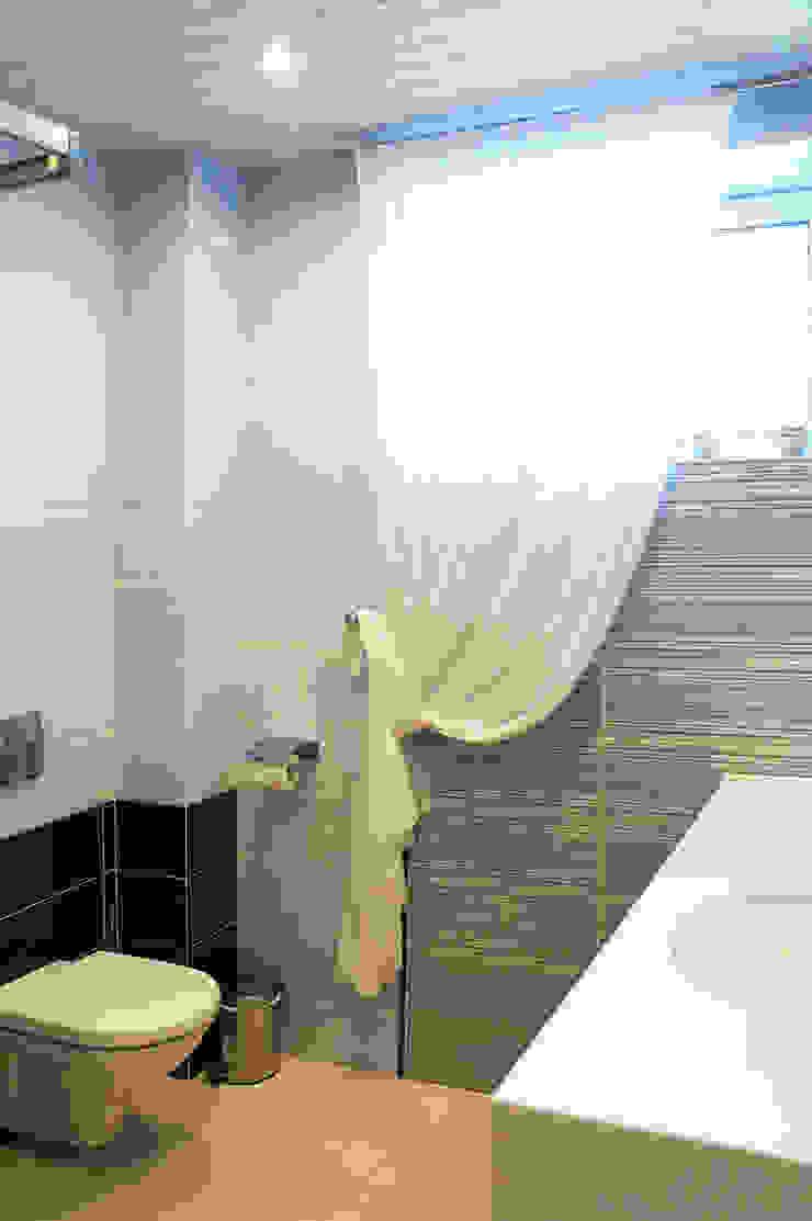 Студия интерьера 'SENSE' Scandinavian style bathroom Blue